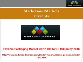 Flexible Packaging Market Is Expected To Reach $99,621.9 Mil