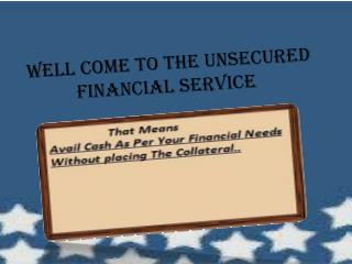 Fiscal Issue Can Be Solve via Online with Approval of Loans