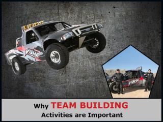 Importance of Las Vegas Team Building Activities