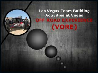 Las Vegas Team Building Activities at VORE