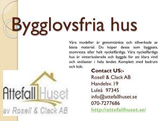 Bygglovsfria hus