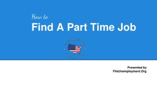 How to Find a Part Time Job