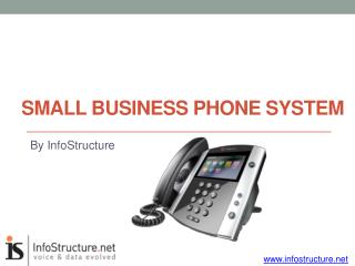 Infostructure - small business phone system