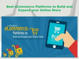 Best eCommerce Development Platforms - eCommerce Solution