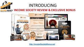 Adeel Chowdhry - Income Society Bonus Package