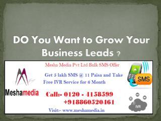 Mesha Media Bulk SMS Service Provider