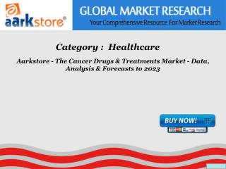 Aarkstore - The Cancer Drugs & Treatments Market - Data, Ana
