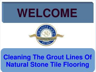 Cleaning The Grout Lines Of Natural Stone Tile Flooring
