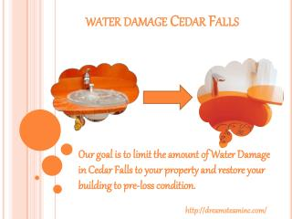 Water Damage Cedar Falls