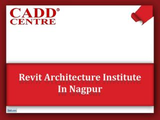 Revit Architecture Institute In Nagpur