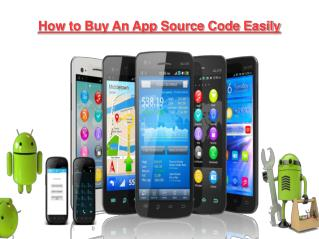 How to Buy an App Source Code Easily
