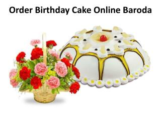 Order Birthday Cake Online Baroda
