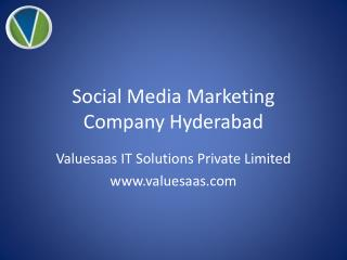 Social Media Marketing Company Hyderabad