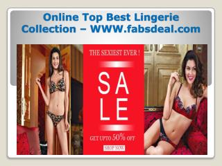 Online Top Best Lingerie Collection