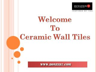 Ceramic Floor Tiles Suppliers India