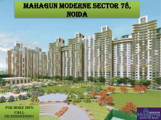 Noida Mahagun Moderne- 9266629901