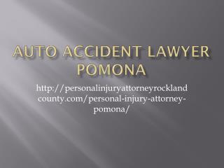 AUTO ACCIDENT LAWYER Pomona
