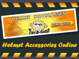 Helmet Accessories Online