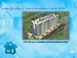 Archit The Zodiac 2, 3 BHK flats at Gangapur Nashik