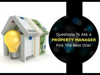 Property Management Company in Kansas City – How-To Choose!