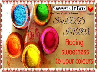 sweets Inbox adding sweetness to colours