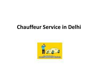 Chauffeur Service in Delhi