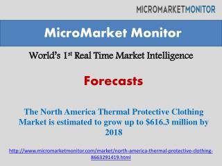 The North America Thermal Protective Clothing Market