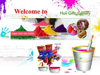 Send Holi Gifts