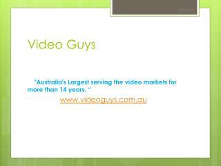 Videoguys Australia