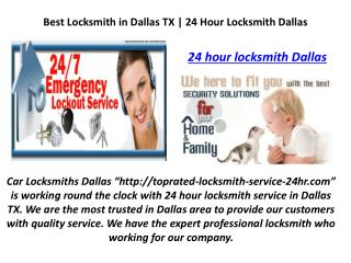 Are You Searching for Car Locksmith Near You in Dallas TX?