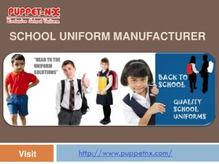 School Uniform Manufacturer