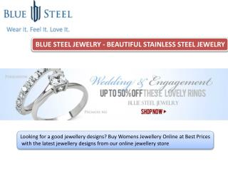 Womens Rings- Buybluesteel.com