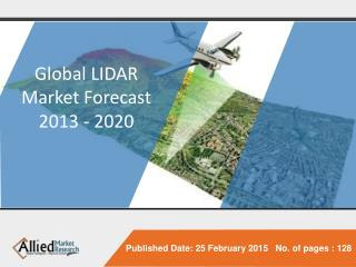 Global LIDAR Market (Product type, Applications, Component,