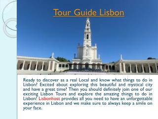 Lisbon Private Shore Excursions