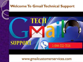 Gmail Customer Support Number 1-844-332-7016