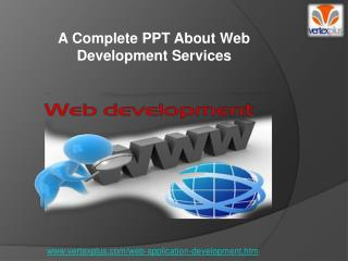 A Complete PPT About Web Development Services