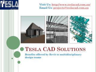 Benefits offered by Revit to multidisciplinary design teams