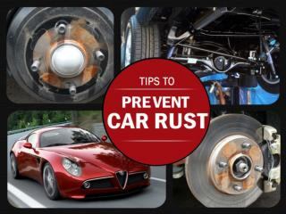 Rust Protection Tips
