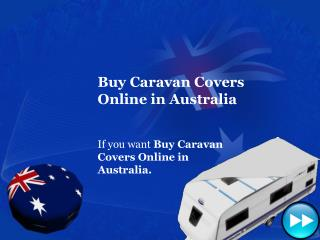 Buy Caravan Covers in Australia, NSW