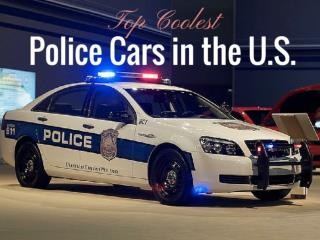 Top Coolest Police Cars in the U.S.