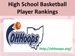Ohio High School Basketball Player Rankings