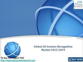 Global 2D Gesture Recognition Market 2015-2019