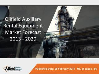 Oilfield Auxiliary Rental Equipment Market in Gulf Countries