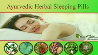 Ayurvedic Herbal Sleeping Pills that Are Non-Habit Forming a