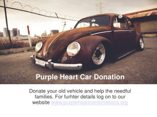 Donate Your Old Vehicle