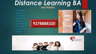<<**92788-88318**>>> Distance Education Courses BA in noida