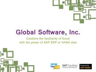 Excel-based SAP Reporting: Maximum potential, maximum effici