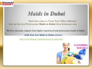 Maids in Dubai