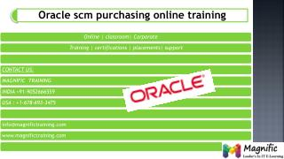 oracle scm online training classes