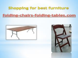 Shopping for best furniture at folding-chairs-folding-tables